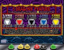 5 dragons slot screenshot 4