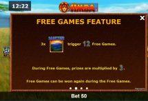 african simba slot screenshot 3