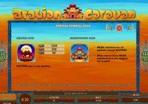 arabian caravan slot screenshot 2