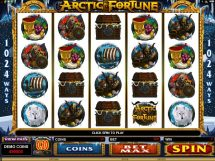 arctic fortune slot screenshot 1