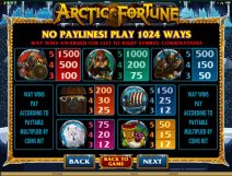 arctic fortune slot screenshot 3