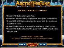 arctic fortune slot screenshot 4