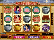 asian beauty slot screenshot 1