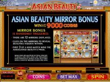 asian beauty slot screenshot 2