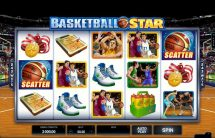 basketball star slot screenshot 1