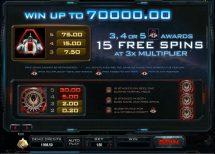 battlestar galactica slot screenshot 2