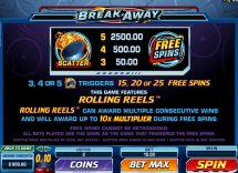 break away slot screenshot 2