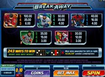 break away slot screenshot 4