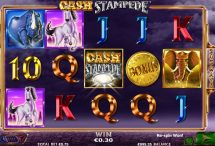cash stampede slot screenshot 1