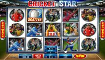 cricket star slot screenshot 1