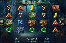 dinosaur adventure slot screenshot 1