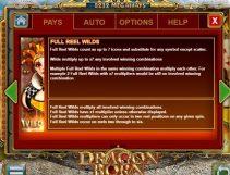 dragon born slot screenshot 3