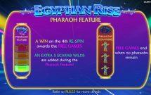 egyptian rise slot screenshot 3