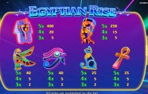 egyptian rise slot screenshot 4