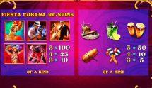 fiesta cubana slot screenshot 4