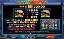 fish party slot screenshot 2