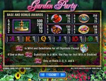 garden party slot screenshot 2