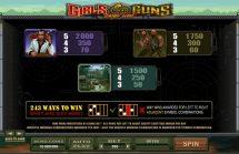 girls with guns jungle heat slot screenshot 4