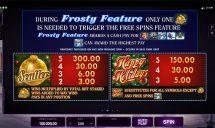 happy holidays slot screenshot 3