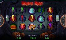 haunted night slot screenshot 1