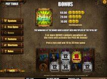 heavy metal warriors slot screenshot 4