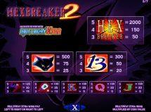 hexbreaker 2 slot screenshot 2