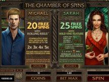 immortal romance slot screenshot 4
