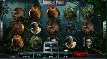 Jurassic Park slot screenshot 1