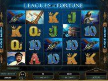leagues of fortune slot screenshot 1