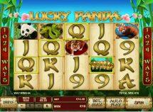 lucky panda slot screenshot 1