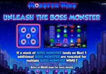 monster wins slot screenshot 2