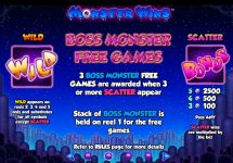 monster wins slot screenshot 3