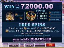 mystic dreams slot screenshot 2
