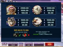 mystic dreams slot screenshot 3