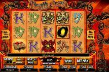 noughty crosses slot screenshot 1