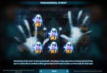 paranormal activity slot screenshot 4