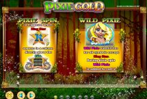 pixie gold slot screenshot 2