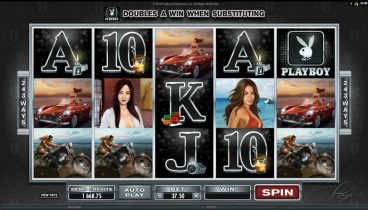 Playboy slot screenshot 1