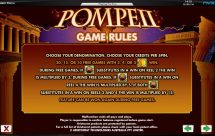 pompeii slot screenshot 4