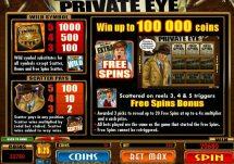 private eye slot screenshot 2