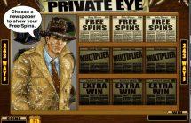 private eye slot screenshot 4