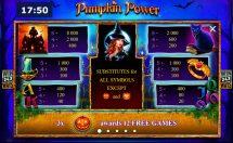 pumpkin power slot screenshot 2