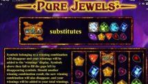 pure jewels slot screenshot 4