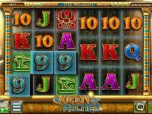 queen of riches slot screenshot 1