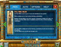 queen of riches slot screenshot 3