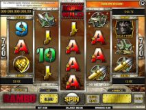 rambo slot screenshot 1