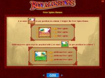 red mansions slot screenshot 3