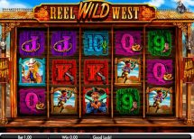 reel wild west slot screenshot 1