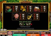 robin hood feathers of fortune slot screenshot 4