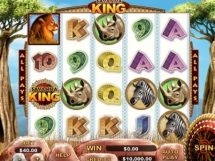 savanna king slot screenshot 1